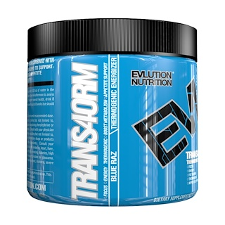 EVLution Nutrition, Trans4orm、ブルーラズベリー、147g
