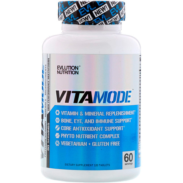 EVLution Nutrition, VitaMode, 120 Tablets