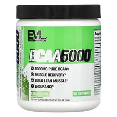 EVLution Nutrition, BCAA5000,檸檬馬鞭草味,9.10 盎司(258 克)