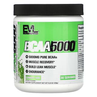 EVLution Nutrition, BCAA5000, Lemon Lime, 9.10 oz (258 g)