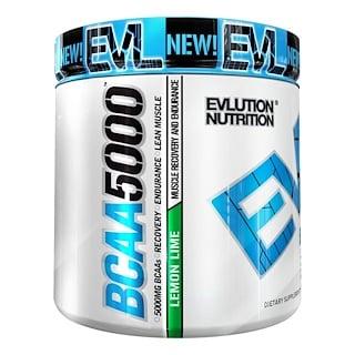 EVLution Nutrition, BCAA 5000, Лимон и Лайм, 9,1 унции (258 г)