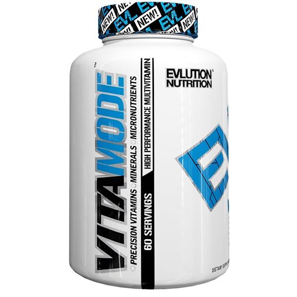 EVLution Nutrition, VitaMode, 60 Tablets