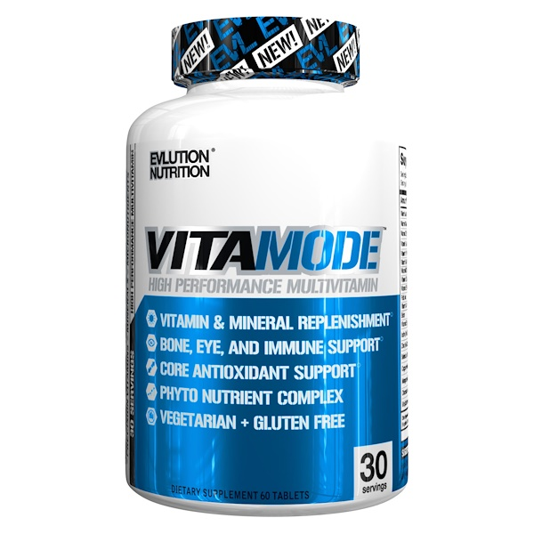 EVLution Nutrition, VitaMode, High Performance Multi Vitamin, 60 Tablets (Discontinued Item)