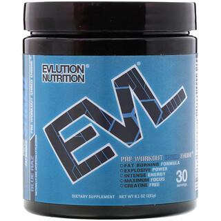 EVLution Nutrition, ENGN Shred, Pré-treino de framboesa azul, 8,1 oz (231 g)