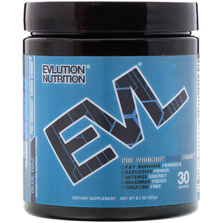 EVLution Nutrition, ENGN Shred、Blue Razプレワークアウト、8.1 oz (231 g)