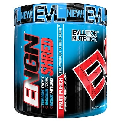 ENGN Shred, Pre-Workout Shred Engine, Fruit Punch, 8.4 oz (237 g)