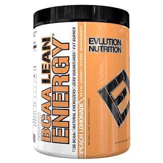 EVLution Nutrition, BCAA Lean Energy, Peach Lemonade, 13.3 oz (378 g)