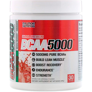 EVLution Nutrition, BCAA 5000、チェリーライメード、8.8 oz (249 g)