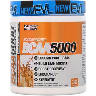 EVLution Nutrition, BCAA5000, Refresco de pêssego, 9.8 oz (279 g)