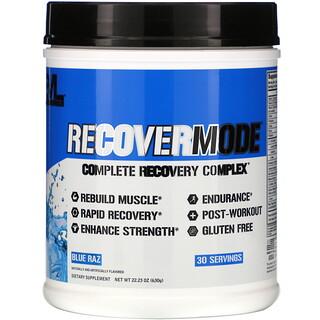 EVLution Nutrition, RECOVERMODE, Complete Recovery Complex, Blue Raz, 22.23 oz (630 g)