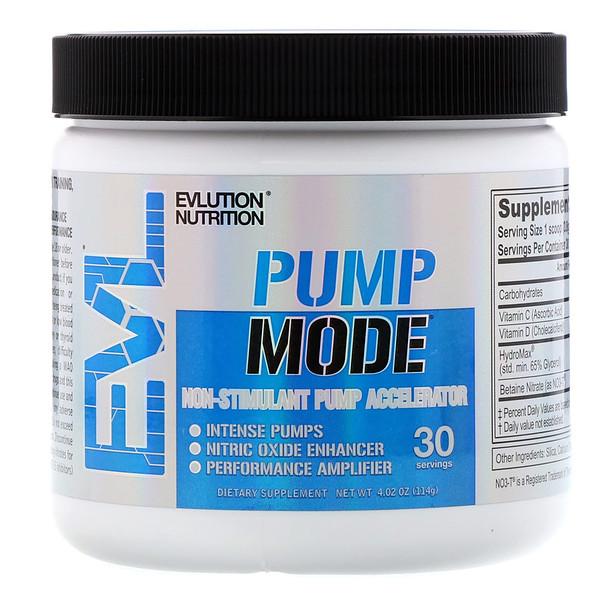 EVLution Nutrition, ポンプモード、4.02オンス (114 g)