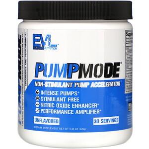 Эвлюшэн Нутришен, PumpMode,  Non-Stimulant Pump Accelerator, 4.44 oz (126 g) отзывы покупателей