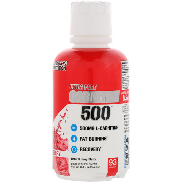 Ultra Pure CARNITINE500, Berry, 16 fl oz (465 ml)