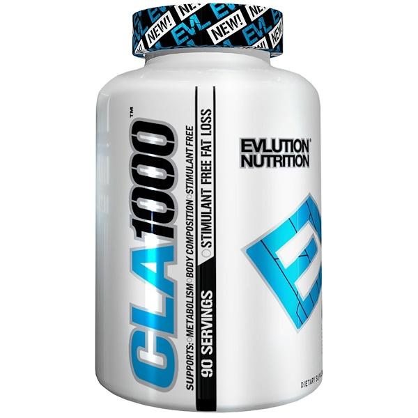 EVLution Nutrition, CLA 1000, 90 Softgels