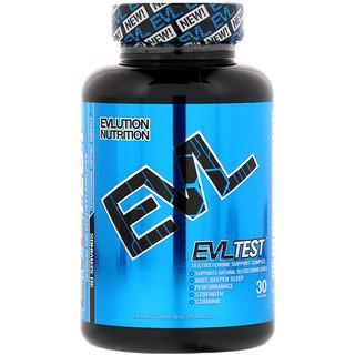 EVLution Nutrition, EVLTest, Testosterone Support Complex, 120 Tablets