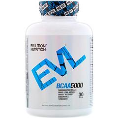 EVLution Nutrition, BCAA 5000, 240 كبسولة