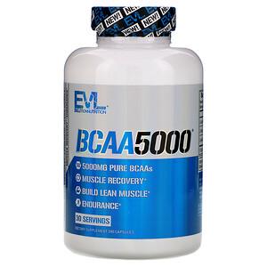 Эвлюшэн Нутришен, BCAA5000, 240 Capsules отзывы покупателей