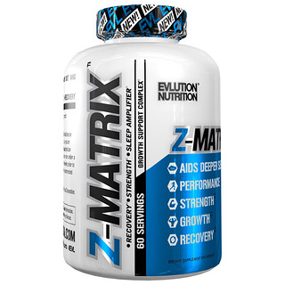 EVLution Nutrition, Z-Matrix,120粒膠囊