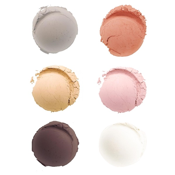 Everyday Minerals, The Minimalist Kit, 6 Pieces  (Discontinued Item)