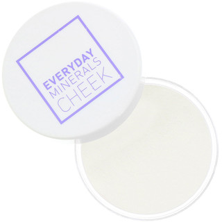 Everyday Minerals, Joues, éclaircissant, fard lumineux, 4,8 g (0,17 oz)