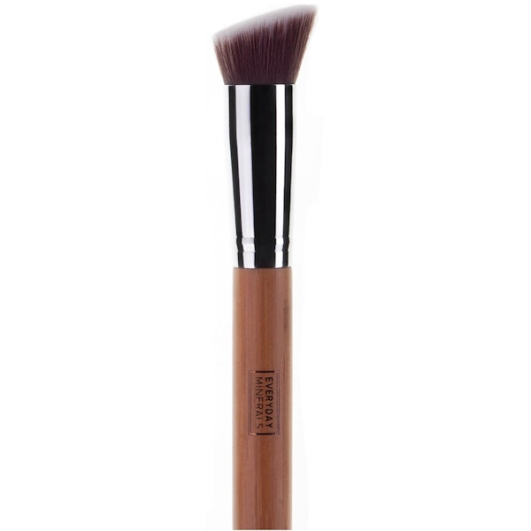 Everyday Minerals, Angled Flat Top Brush, 1 Brush (Discontinued Item)
