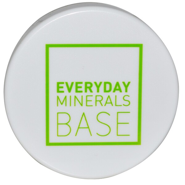 Everyday Minerals, Matte Base, Beige 3N, .17 oz (4.8 g) (Discontinued Item)