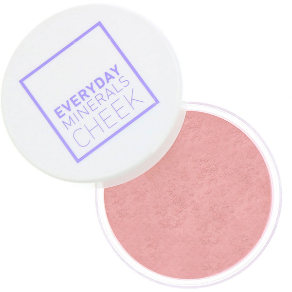 Everyday Minerals, Cheek Blush, Peony Petal, .17 oz (4.8 g)