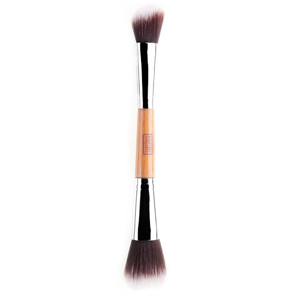 Everyday Minerals, Double Ended Angled Blush & Mineral Brush (Discontinued Item)