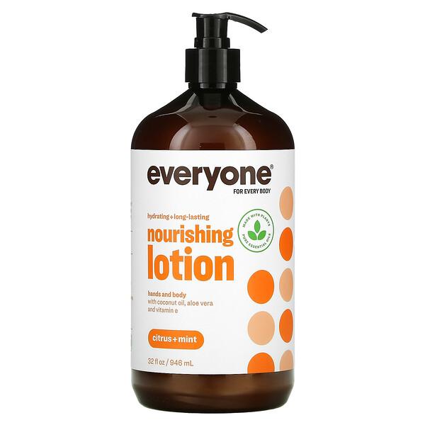 Nourishing Hands and Body Lotion, Citrus + Mint, 32 fl oz (946 ml)