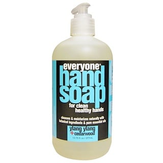 Everyone, Hand Soap, Ylang Ylang + Cedarwood, 12.75 fl oz (377 ml)