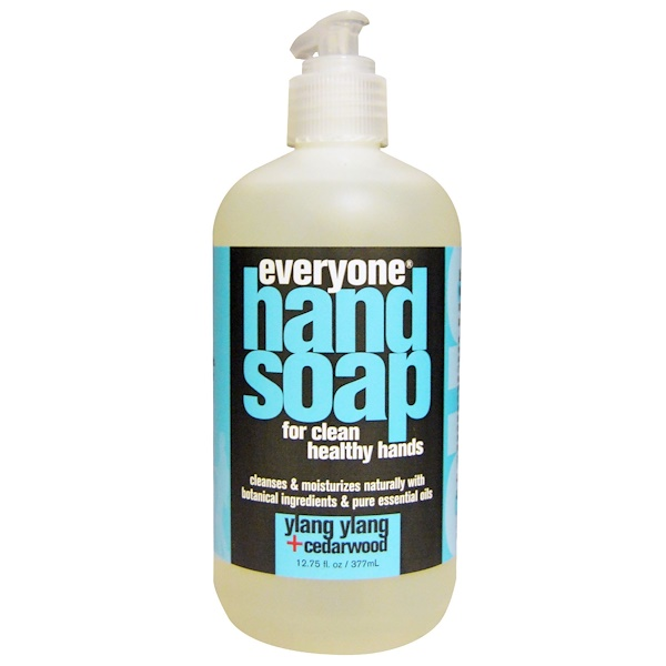 Everyone, Hand Soap, Ylang Ylang + Cedarwood, 12.75 fl oz (377 ml) (Discontinued Item)
