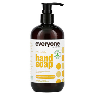 Everyone, Hand Soap, Meyer Lemon + Mandarin, 12.75 fl oz (377 ml)