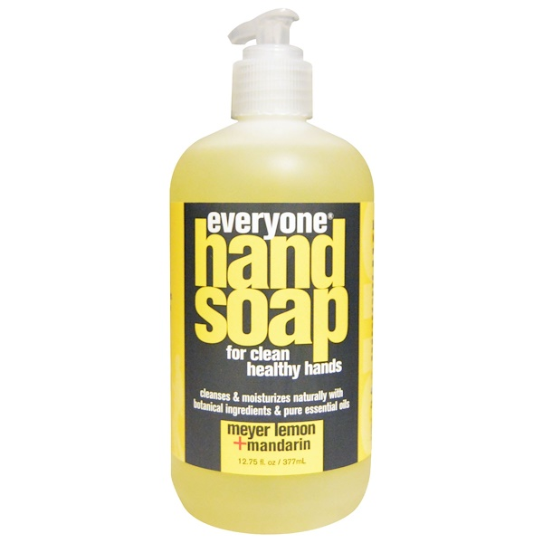 Everyone, Hand Soap, Meyer Lemon + Mandarin, 12、75 fl oz (377 ml)