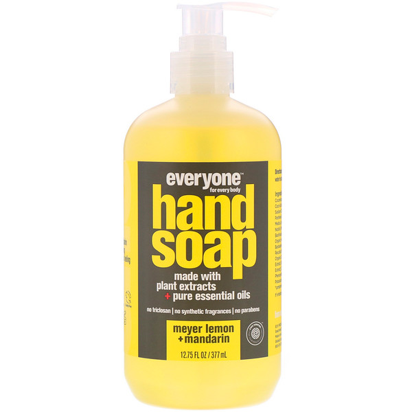 Everyone, Hand Soap, Meyer Lemon + Mandarin, 12.75 fl oz (377 ml)