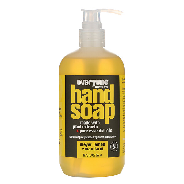 Hand Soap, Meyer Lemon + Mandarin, 12.75 fl oz (377 ml)