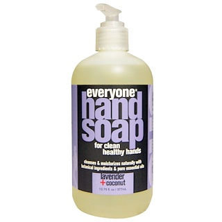 Everyone, Hand Soap, Lavender + Coconut, 12.75 fl oz (377 ml)