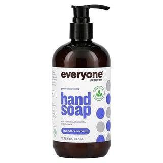 Everyone, Hand Soap, Lavender + Coconut, 12.75 fl oz (377 ml)