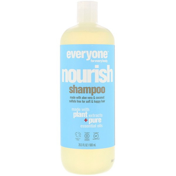 Everyone, Nourish, Shampoo, 20.3 fl oz (600 ml)