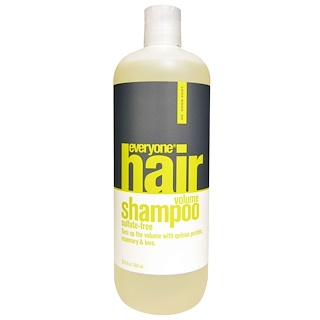 Everyone, Hair Volume Shampoo, Sulfate Free, 20.3 fl oz (600 ml)