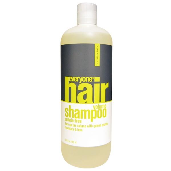 Everyone, Hair Volume Shampoo, Sulfate Free, 20、3 fl oz (600 ml)