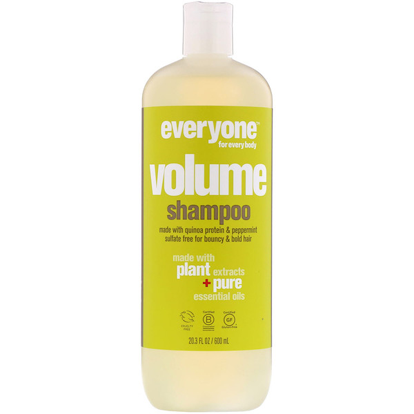 Everyone, Volume, Shampoo, 20.3 fl oz (600 ml) (Discontinued Item)