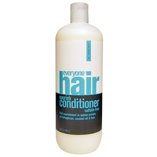 Everyone, Hair Nourish Conditioner, Sulfate-Free, 20.3 fl oz (600 ml)