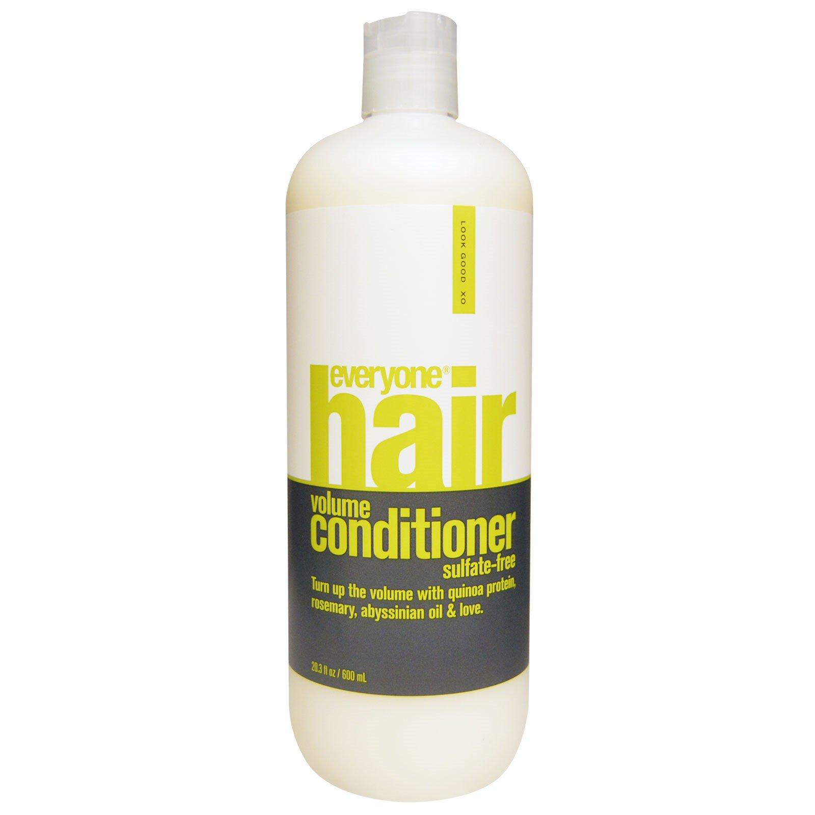 Everyone, Кондиционер для придания волосам объема, Без сульфатов, 20,3 унции (600 мл)