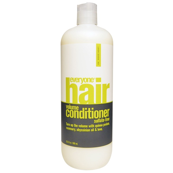 Everyone, Hair Volume Conditioner, Sulfate-Free, 20.3 fl oz (600 ml)