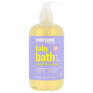 Everyone, Baby Bath, 3 in 1, Chamomile + Lavender, 12.75 (377 ml)