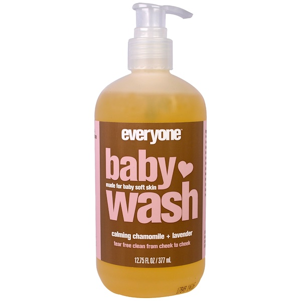 Everyone, Baby Wash, Calming Chamomile and Lavender, 12.75 (377 ml)