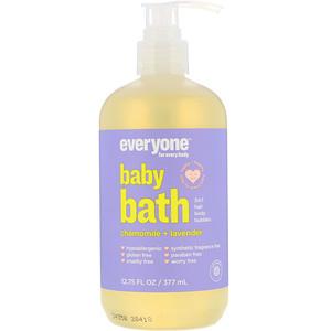 евриван, Baby Bath, 3 in 1, Chamomile + Lavender, 12.75 (377 ml) отзывы