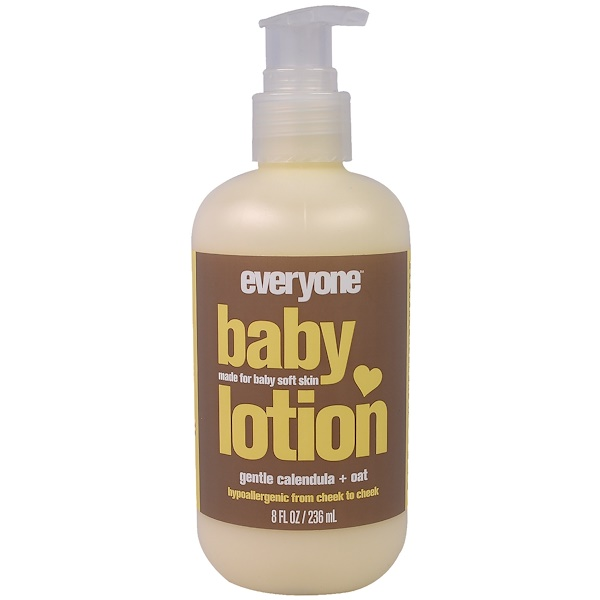 Everyone, Baby Lotion, Gentle Calendula + Oat, 8 fl oz (236 ml) (Discontinued Item)