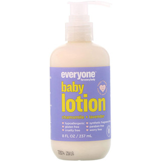Everyone, Baby Lotion, Chamomile + Lavender, 8 fl oz (237 ml)