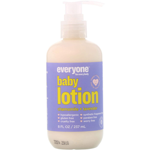Everyone, Baby Lotion, Chamomile + Lavender, 8 fl oz (237 ml) (Discontinued Item)